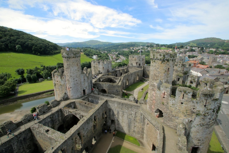 Beautiful Conwy Castle.