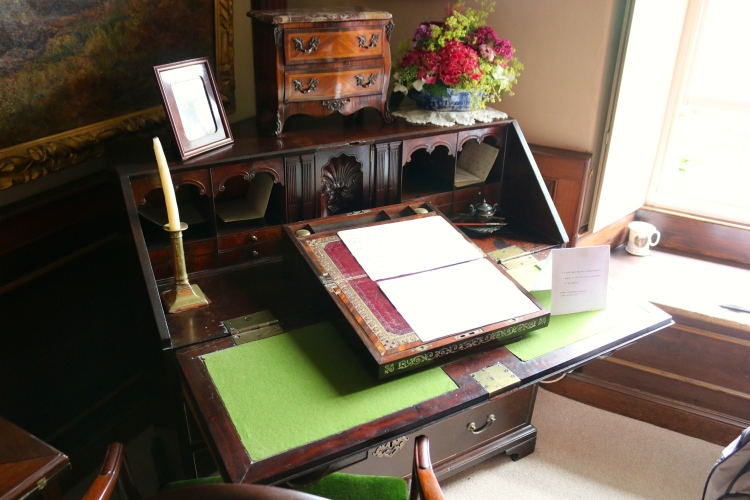 Beatrix's writing desk.