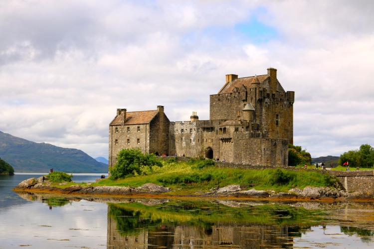 I think this is probably the most photographed castle in Scotland - with good reason!